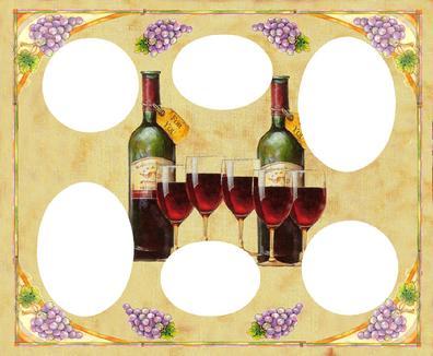 magnetic frames magnet frames frames with magnets magnets frames fridge frames wine bottle collage